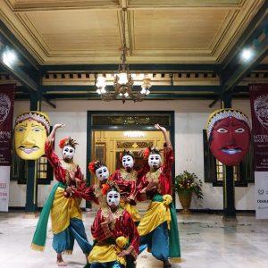 Gelaran International Mask Festival (IMF) di gelar di kota Solo.