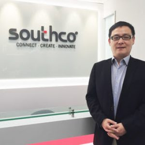 Above Mr. Jay Lu, Managing Director Asia Pacific, Southco Asia Ltd.