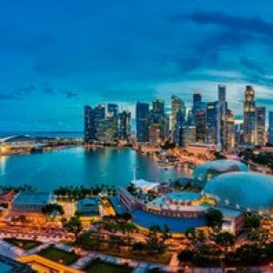 Marina Mandarin's Marina Bay view