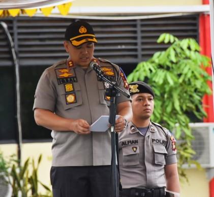 Kapolres Tanjungpinang AKBP Muhammad Iqbal, SH, SIK, M.Si