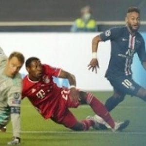 Bayern Munchen vs PSG berpeluang terjadi di perempat final Liga Champions. (AP/Miguel A. Lopes)