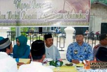 Bupati Anambas Ngopi Bersama Masyarakat Kecamatan Siantan Selatan