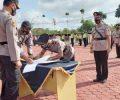 Kapolres Bintan Lakukan Mutasi Jabatan Sejumlah Pejabat Utama dan Perwira