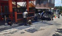 Dinas PUPR Tanjungpinang Lakukan Pemeliharaan Rutin Jalan di Bulan Ramadhan