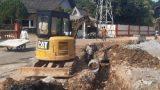 PUPR Tanjungpinang Perbaiki Drainase di Kampung Melayu Senggarang